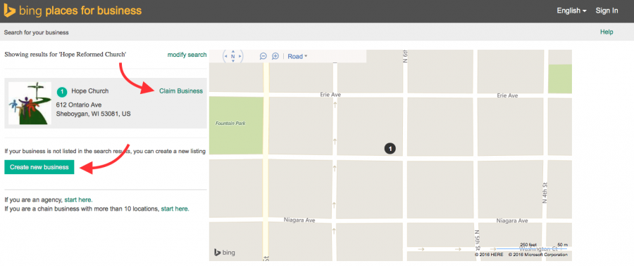 Claim and Optimize Bing Places Listing