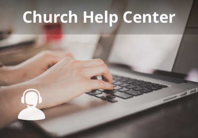 Church Help Center