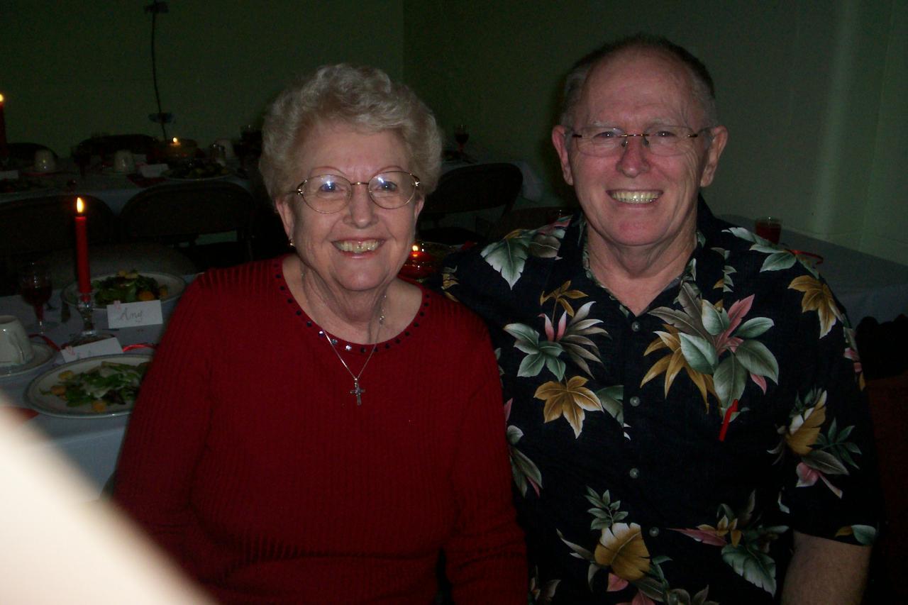 Pastor Chuck and Mary Barrett