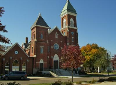 The Exterior of Zion Lutheran Church