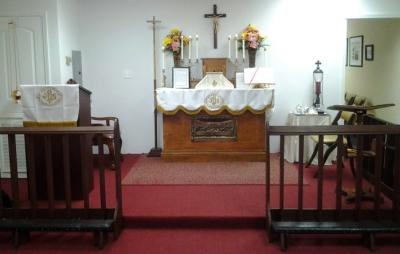 Our Altar before service