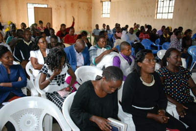 During our sunday Service -saints taking in the Word