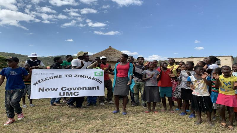 Our ZOE group in Zimbabwe we support.