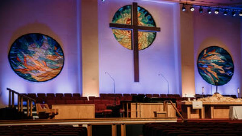 Our main stage for worship.