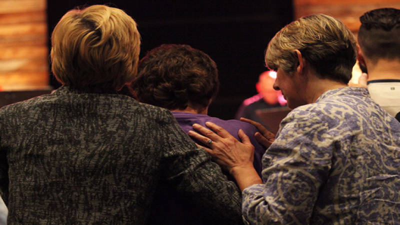 Praying for one another is something we love doing for each other in all seasons of life.