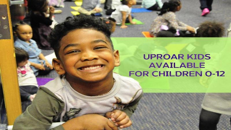 At Uproar Kids, we believe that every child is designed by God to be a leader, to be someone who makes a difference in the world by having an influence over the lives of others. Our goal each and every weekend is to help ensure that your child develops into that leader.  Visit www.uproarchurch.org for more information!