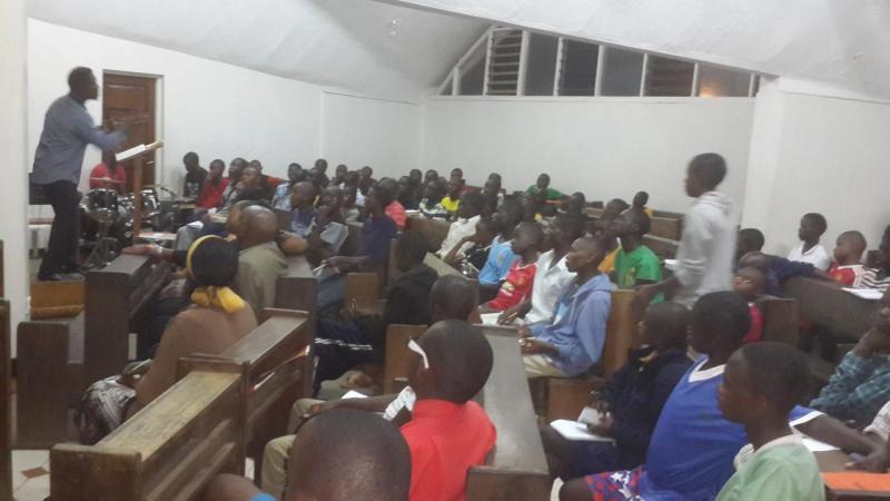empowering high school students at Starehe Boys in Nairobi -Kenya
