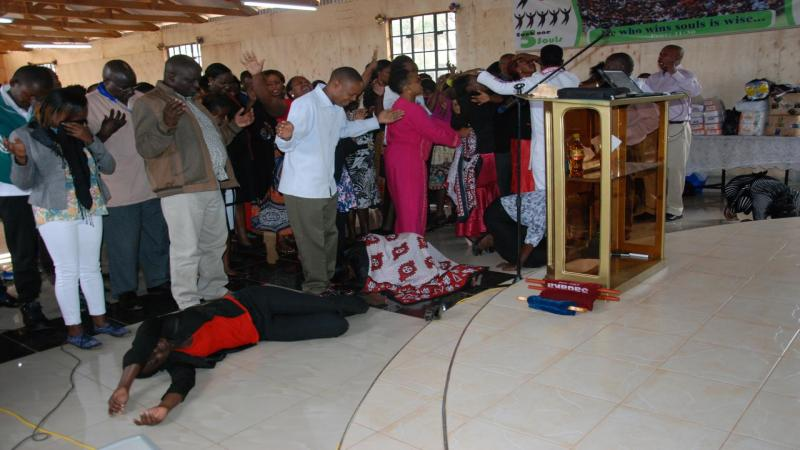 ministering healing to the sick