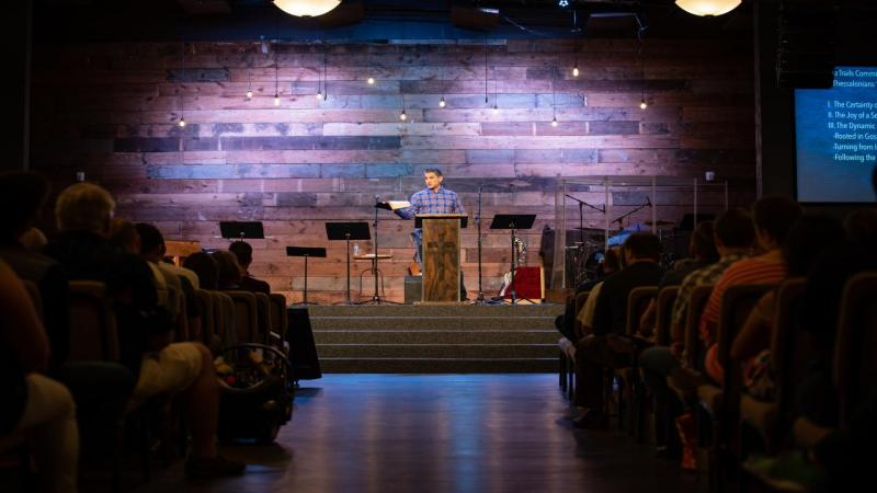 Gospel-centered preaching from Afshin Ziafat at Providence Church
