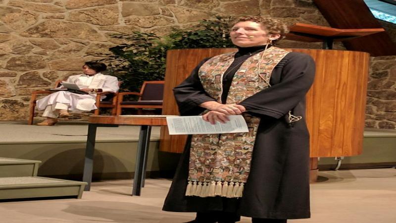 Reverend Anne Cubbage