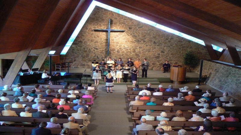 A warm, welcoming church.